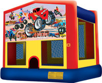 Bouncy Castle Off Road Themed NON RESIDENTIAL