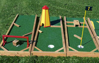 9 Hole Mini Golf Basic Course for 3- 8 year old aged groups