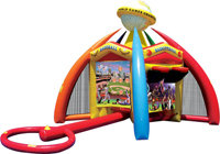 World of Sport Challenge Inflatable Game RESIDENTIAL