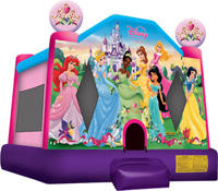 Disney Princess Bouncy Castle - Med NON RESIDENTIAL