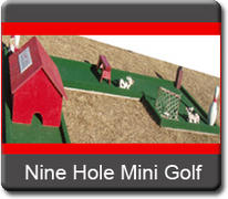 9 Hole Mini Golf Western Themed
