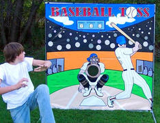 Baseball Toss FRAME GAME