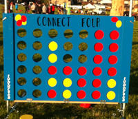 Strategic Giant Connect 4 Picnic Party Game