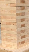 Giant Jenga Natural Picnic Party Games