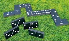 Giant Dominoes Picnic Party Games