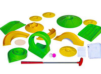 19 Hole Mini Golf Prop Set NON RESIDENTIAL c/w 20 putters,Hole Flags, Balls, Props, Pencils and scorecards