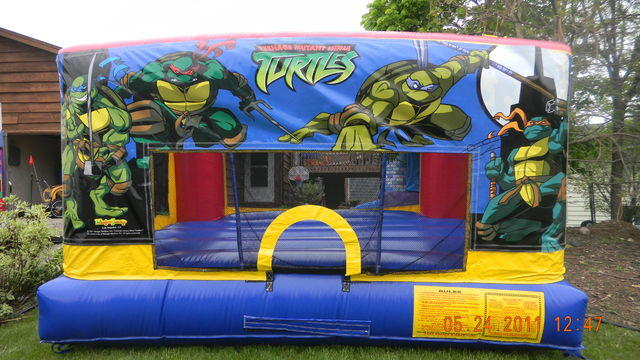 Mini Bouncer - Ninja Turtles