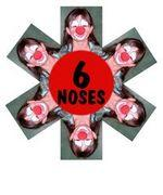 Clown Noses SIX PACK