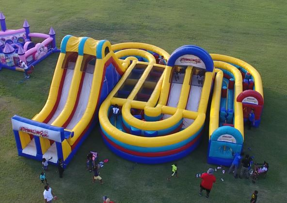 obstacle course rental mansfield