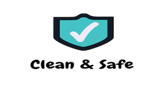 clean safe and sanitized