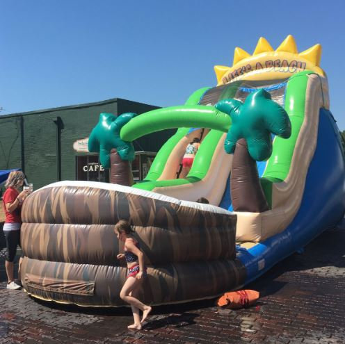 water slides for rent mansfield