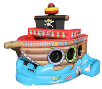 Pirate Ship Bounce Slide Combo