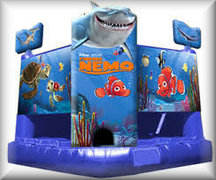 Finding Nemo Bounce House