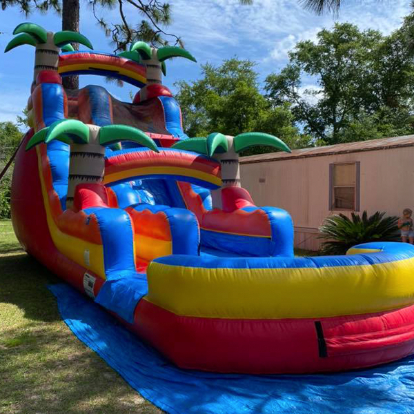Jesup water slide rental