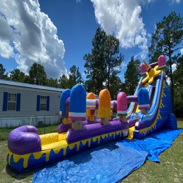 hinesville water slide rental