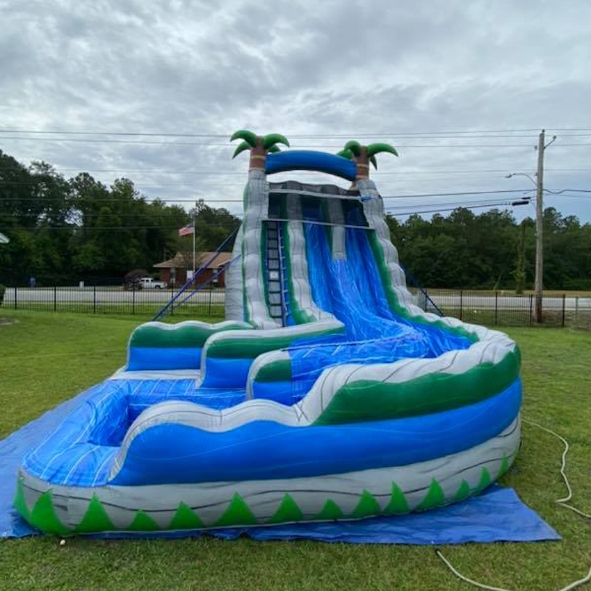 Richmond Hill water slide rental