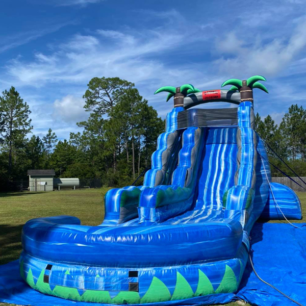 water slide rental midway
