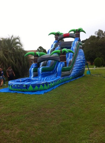 20ft Blue crush Slide