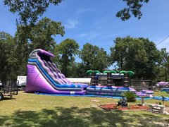 22ft dual lane with slip and slide