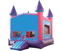 15x15 Purple banner bounce house