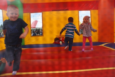 Crayon Bouncy House Rental