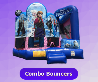 Bounce house and slide combo rental