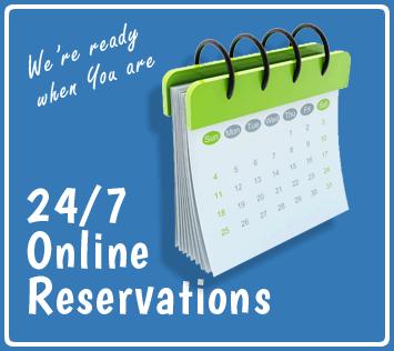 Reserve online calendar