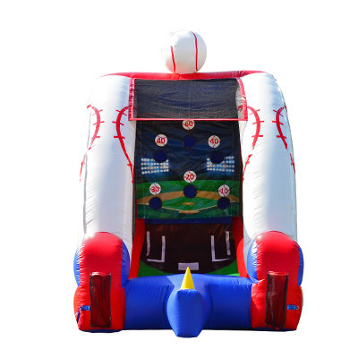 Batter Up Inflatable Baseball Game