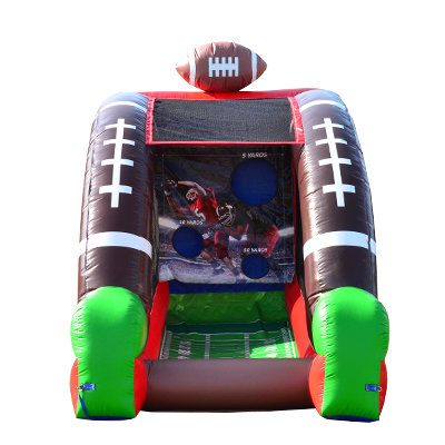 Quarterback Challenge Inflatable Football Game