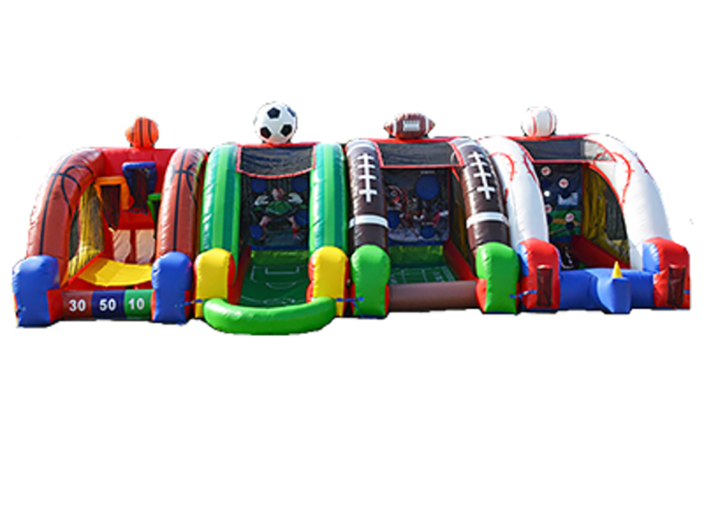 Extreme Inflatable Sports Package