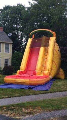 Fireball Falls Water Slide