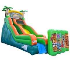 Tiki Island Water Slide Rental