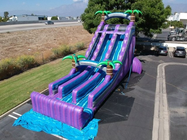 24ft Purple Paradise wet/ dry Slide