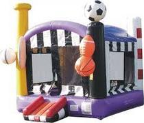 Sports Deluxe Bounce House