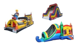Bounce Slide Race Package