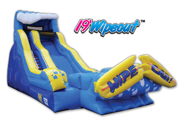 19ft Wipeout Slide Use Wet or Dry