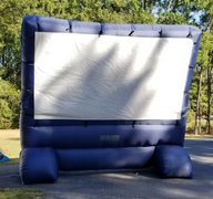 Movie Screen & Projector