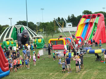 Minnesota Inflatable Event + Party Rentals | Minneapolis MN