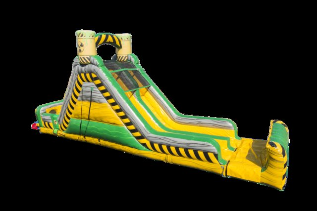 19' Toxic Rock Climb Slide (Requires 2 Blowers)
