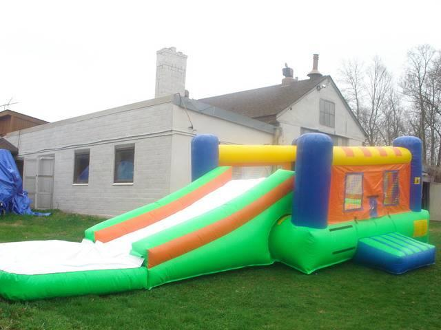 Inflatable waterslide combo minneapolis mn Swimming pool water delivery wisconsin