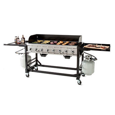 Event Grill and propane tanks