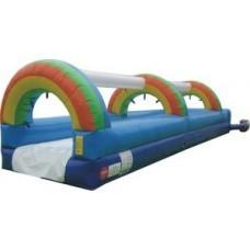 1 Lane Rainbow Slip N Slide