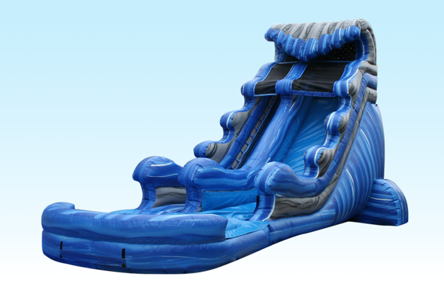 23' Tidal Wave Water Slide (Requires 2 Blowers)