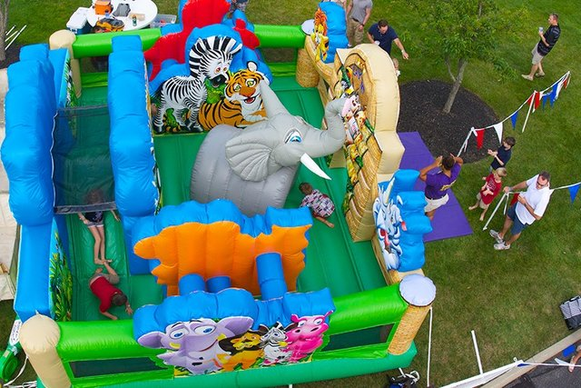 19 X 19 Zoo Toddler Playland