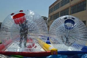 Criss Cross Collision Course - Zorb Ball Racing
