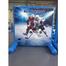 Hockey Shot Inflatable Frame Game