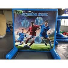 Soccer Kick Inflatable Frame Game