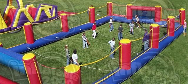 Human Foosball -  Extra Large  Outdoor Grass setup only