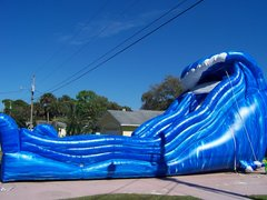 19' Wild Wave Super Water Slide - or Dry Slide