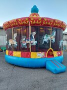 25' Carousel Bounce House - HUGE